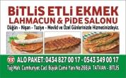Bitlis Etli Ekmek